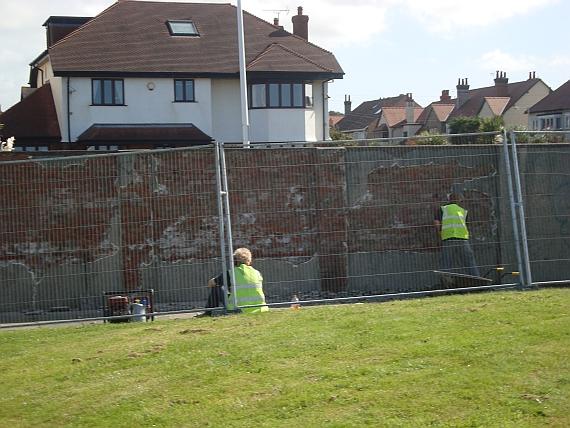 parade gardens repairs