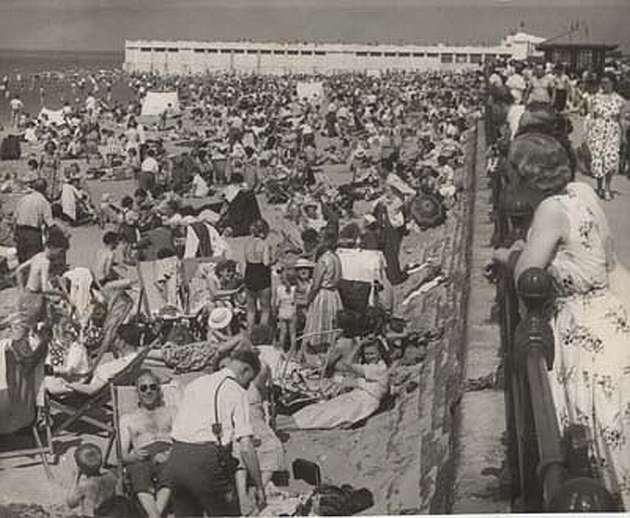 beach June 1957