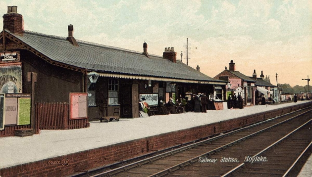 old hoylake station