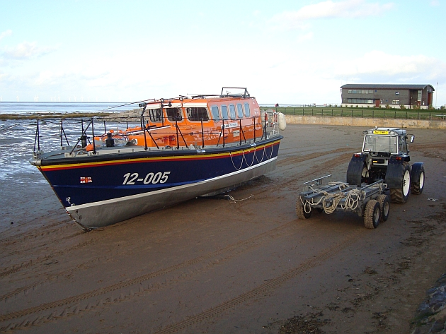 lifeboat beached
