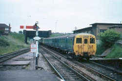 old merseyrail train