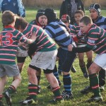 Under 10s maul v Collegiate