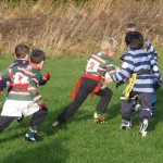 Under 8s attack v Collegiate