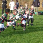 Under 8s go for it v Collegiate