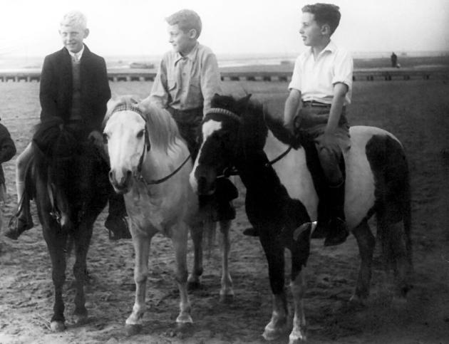 donkey ride at Hoylake