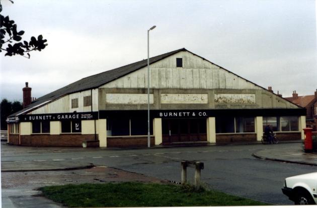 Burnett garage
