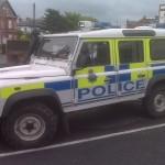 police landrover