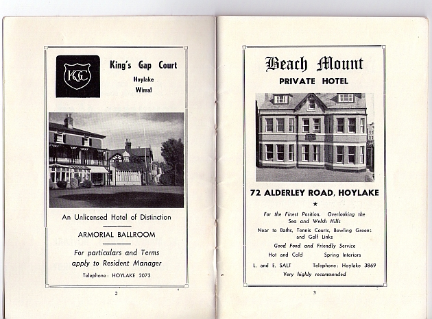 hotel adverts