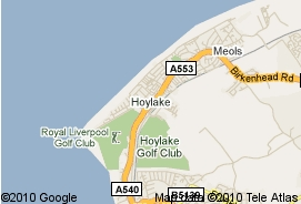 map hoylake