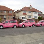 Candy Cabs Filming In Hoylake
