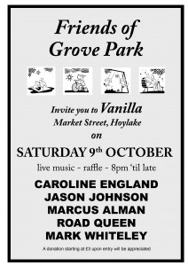 Grove Park poster