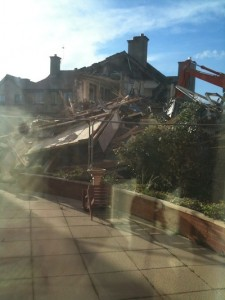 hoylake cottage demolition
