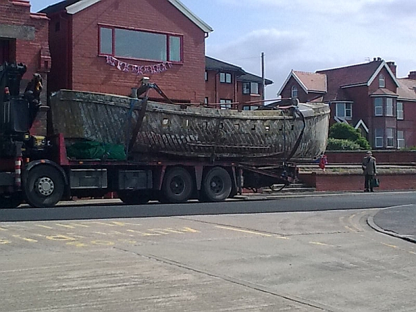 old lifeboat