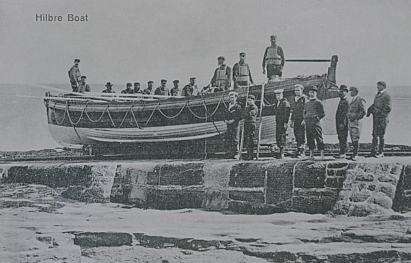 hilbre boat