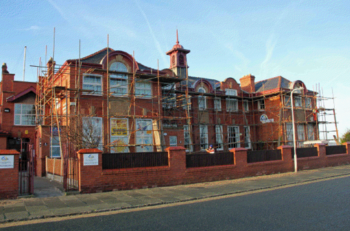 hoylake centre scaffold