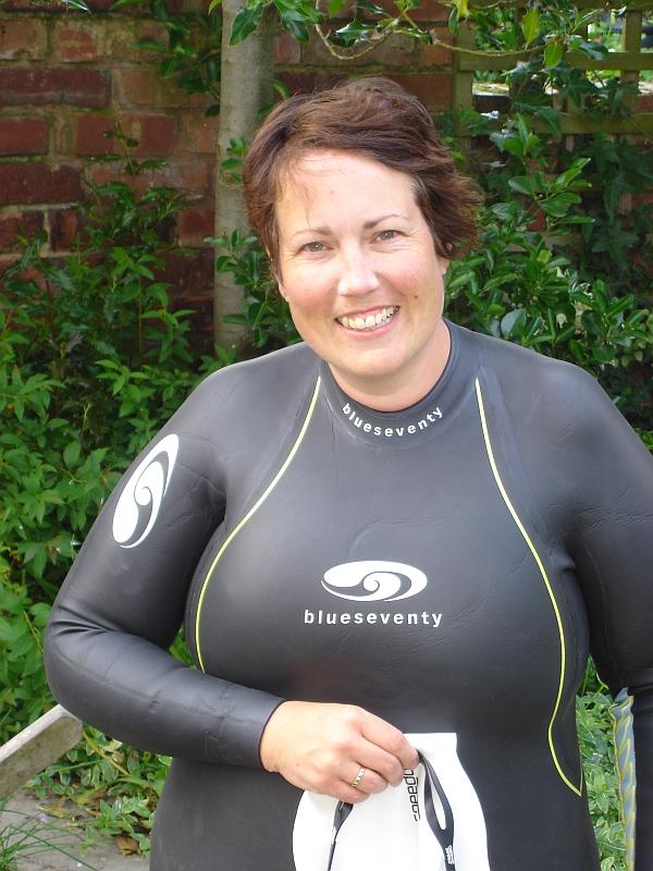 Sarah Green swimming