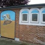 Melrose Hall: Street art complete