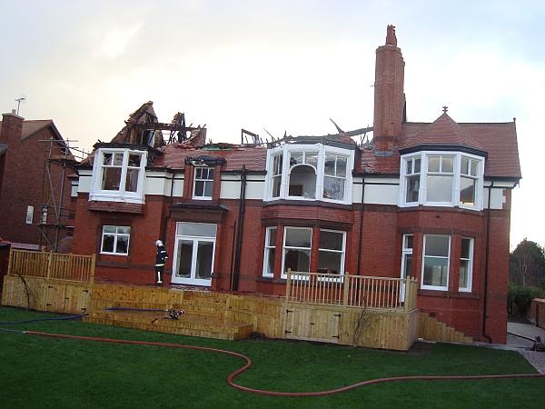 redcroft fire