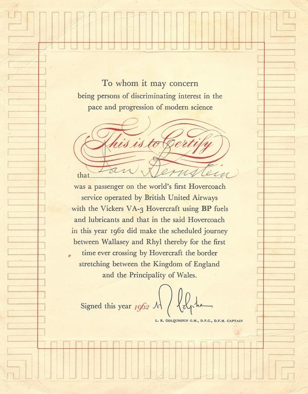 hovercraft-certificate