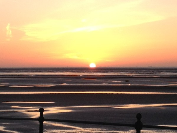 hoylake sunset