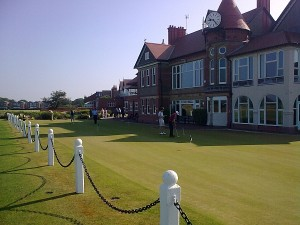 royal liverpool putting green