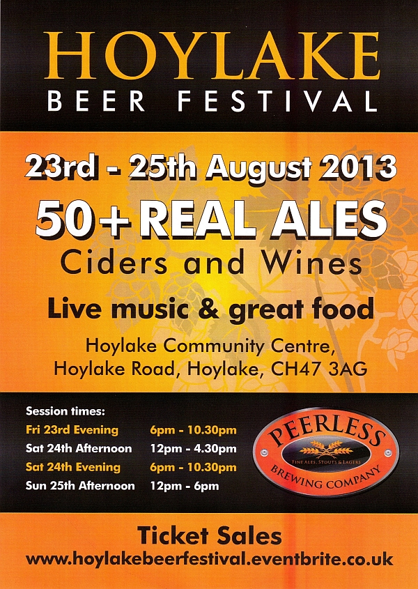 hoylake beer festival