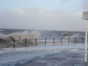 Hoylake high tide