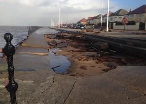sandhey slipway damage