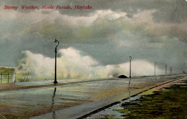 Stormy Weather Meols Parade Hoylake-740