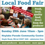 Hoylake Food Fair: 29th June