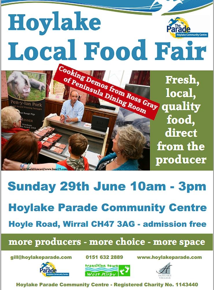hoylake food fair