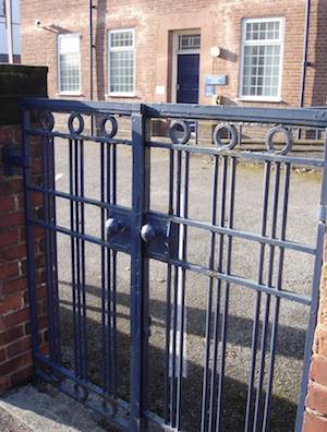 police station gates