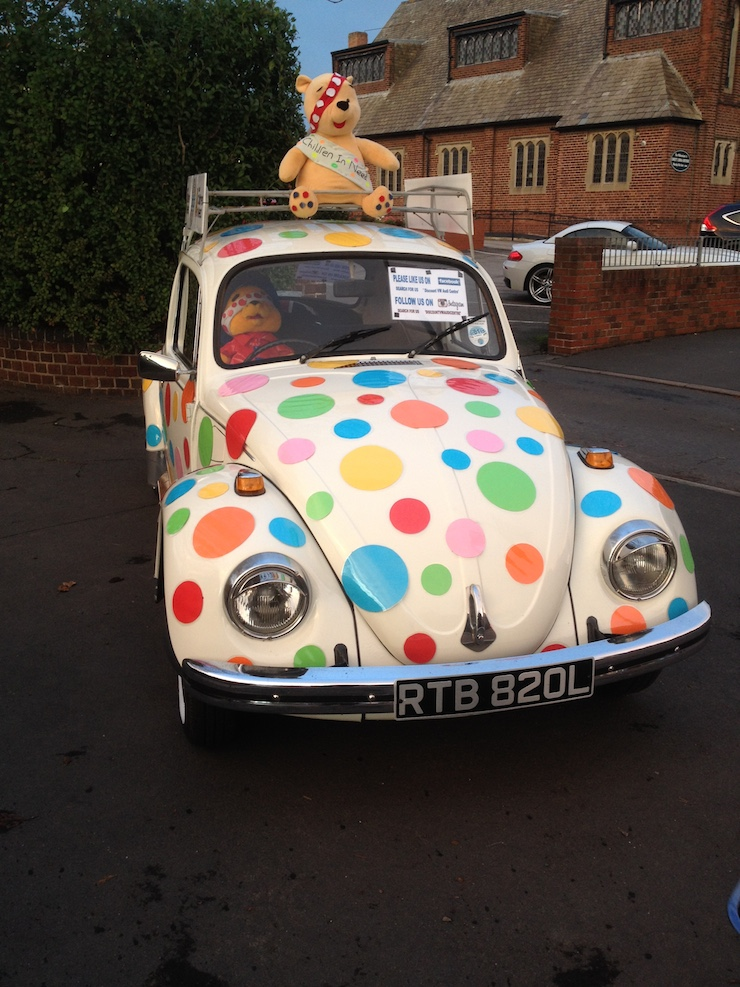 children in need beetle