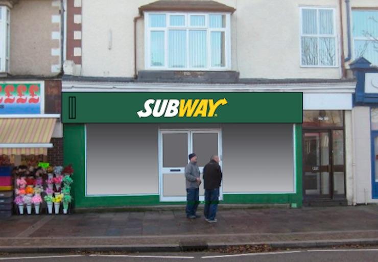 subway hoylake shop