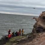 Rescue at Hilbre Island