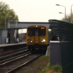 Train line fatality at Meols