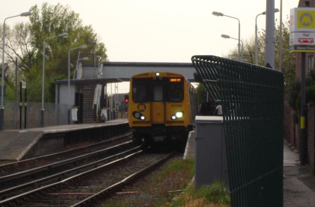 train manor road
