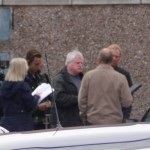 BBC filming in Hoylake