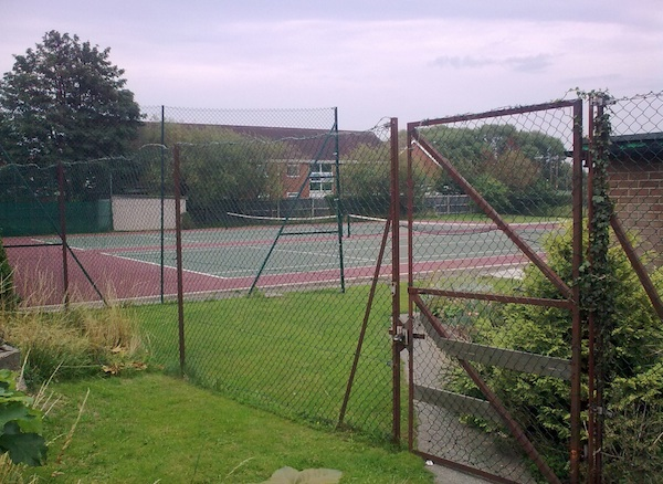 st lukes tennis court site