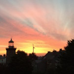 Friday Photo: Lighthouse sky