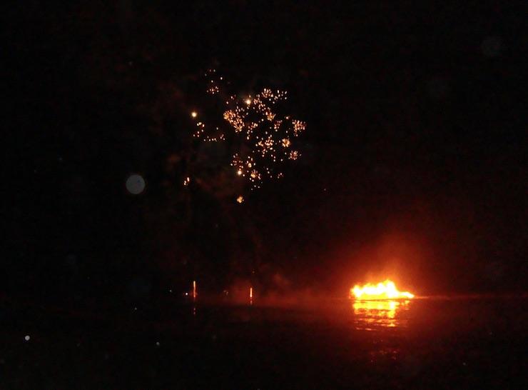 hoylake bonfire