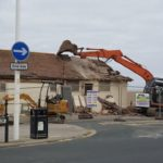 Toilet block demolition