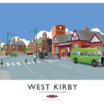West Kirby Poster