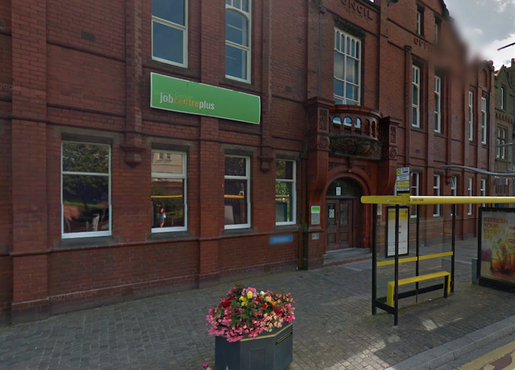 hoylake job centre