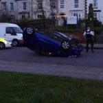 Road traffic collision on Birkenhead Road