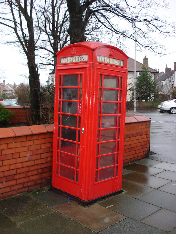 meols phone box omd