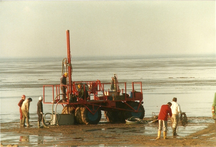 seismic survey hoylake